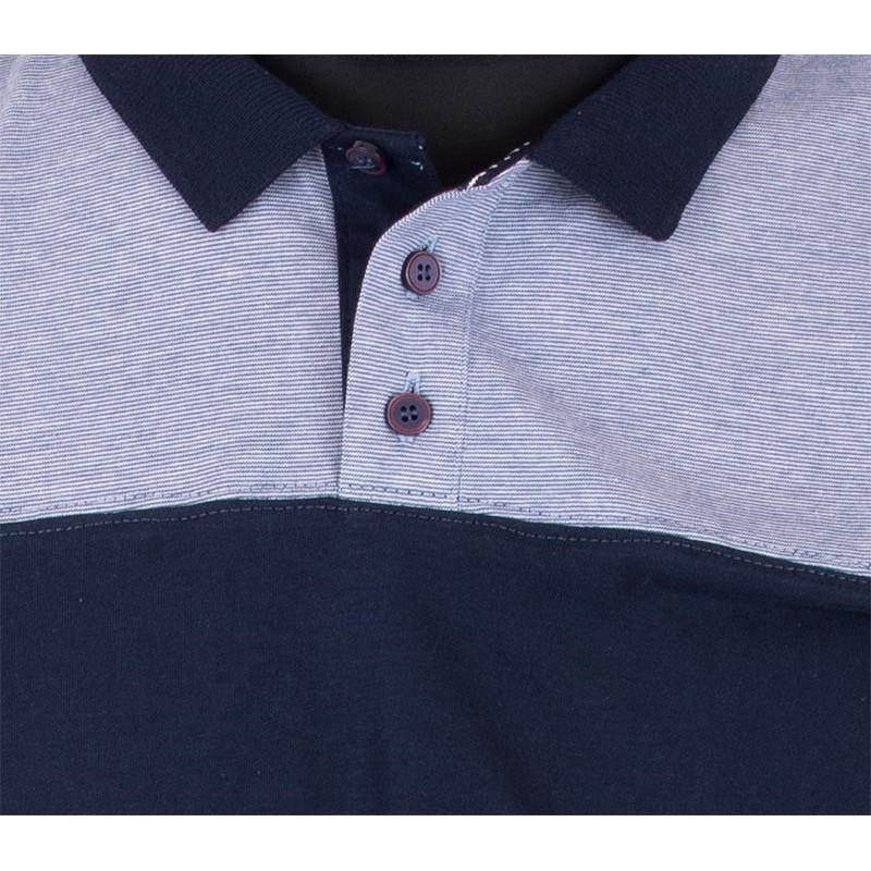Koszulka Polo Lidos 26012490 granatowo-niebieska M,L,XL,2XL,3XL4XL