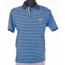 Koszulka Polo Kings Filati 36H*2066 niebieski w paski M, L, 3XL