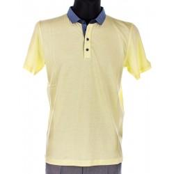 Polo z krótkim rękawem Lidos limonkowy żółty roz. M, L, XL, 2XL, 3XL