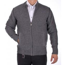 Sweter rozpinany Lasota Ernest popielaty, szary roz. M L XL 2XL