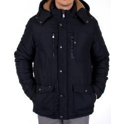 Zimowa kurtka Rogior przedłużana granatowa roz. L XL 2XL 3XL