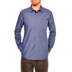 Koszula długi rękaw Roy KS231 0013 7099 jeansowa w kropki r. M L XL 2XL