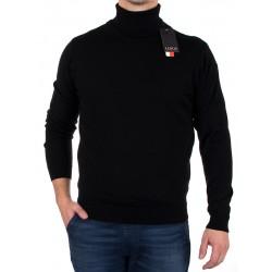 Czarny golf Lidos 1003 rozmiar M L XL 2XL 3XL