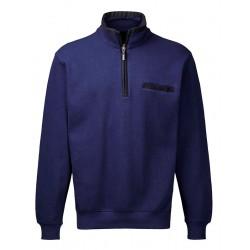 Bluza bawełniana z zamkiem Belika 10106 186 granatowa roz. M L XL 2XL