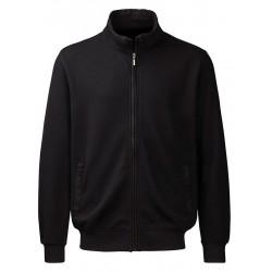 Rozpinana bluza Belika 10105 109 czarna z kieszeniami M L XL 2XL