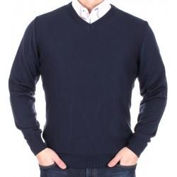 sweter Lasota Ksawery granatowy