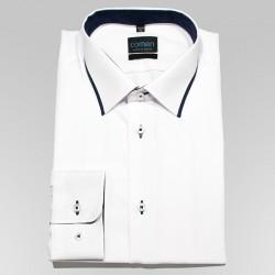 Koszula regular Comen dł. rękaw gładka biała roz. 42 43 44 45 46