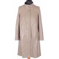 płaszcz damski wiosna jesień Biba Maris beżowy rozmiar 40 42 48