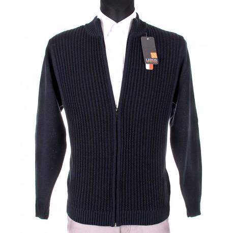 sweter Lidos SW97 granat rozpinany