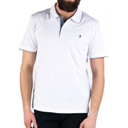 Biała polówka męska Pako Jeans Still z krótkim rękawem M L XL 2XL 3XL