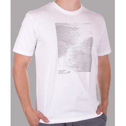 Biały t-shirt z nadrukiem PakoJeans TS 8 Dots M L XL 2XL 3XL