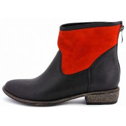 botki Grabara 2098 czarny czerwony