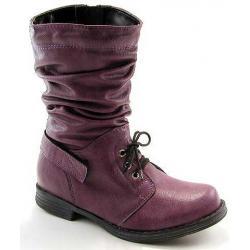 kozaki Kornecki 4164 fioletowe dziewczęce