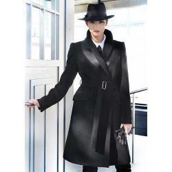 płaszcz Dziekański Izolda stalowy rozmiar 38 40 42 44 46