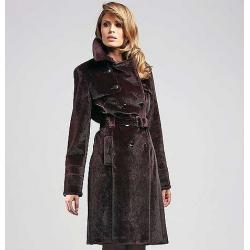 płaszcz damski Vivero P 313 bordowy firmy Conmar rozmiar 44 46 48