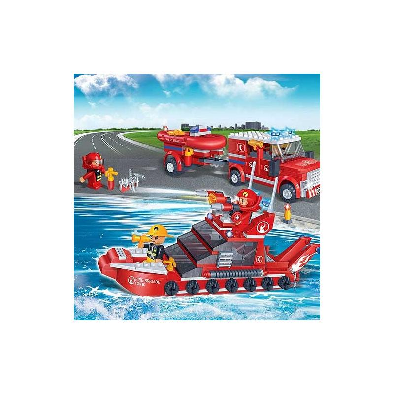 klocki BanBao 8312 Wodna Ekipa Ratunkowa Straż Pożarna