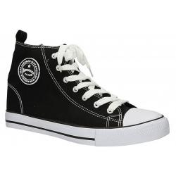 trampki American Club LH-9120-10 czarne rozmiar 36 37 38 39 40 41