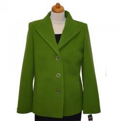 kurtka damska Caro 041 zielona rozmiar 40 42 44 46 48 50 52