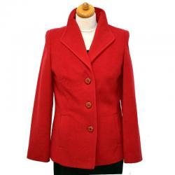kurtka przejściowa Caro 041 czerwona rozmiar 38 40 42 44 46 48 50 52