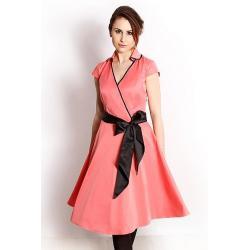 sukienka Dziekański Merlin łososiowa