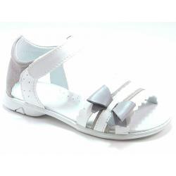 sandały Kornecki 4320 białe dla dziewczynki
