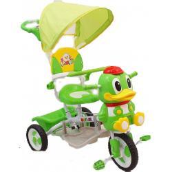 rowerek trójkołowy Babymix Kaczorek zielony ET-A27-3