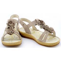 sandały damskie Helios 669 beżowe