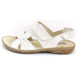sandały skórzane Helios 671 białe rozmiar 36 37 38 39 40 41