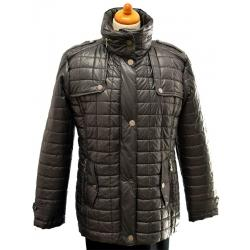 kurtka pikowana Adel firmy BIBA grafitowa