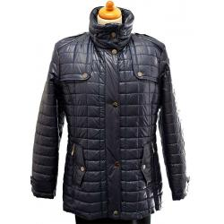 kurtka pikowana BIBA Adel granatowa damska rozmiar 38 40 42 44 46