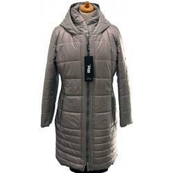 płaszcz BIBA Alida szary damski zimowy rozmiar 40 42 44 46 48