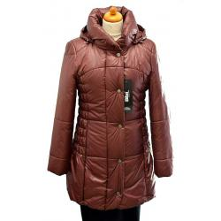 kurtka damska BIBA model Julita bordowa rozmiar 38 40 42 44 46 48