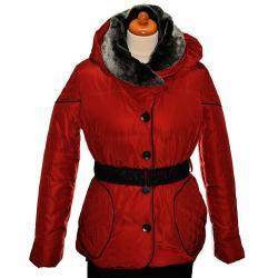 kurtka ocieplana Maria Bland Z-1418 czerwona