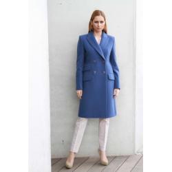płaszcz Dziekański Emilia 58 niebieski