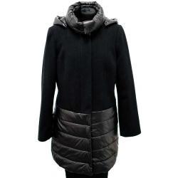 płaszcz ocieplany Biba Sandra czarny