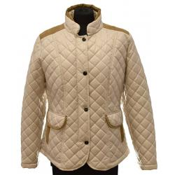 kurtka damska pikowana Biba Łucja jasno beżowa rozmiar 38 40 42 44 48