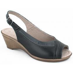 sandały damskie Pesco 1448 czarne