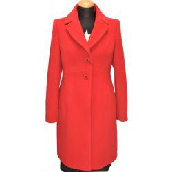 płaszcz damski Dziekański Andrea czerwony