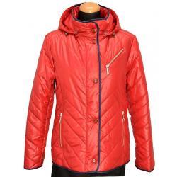 kurtka przejściowa BIBA Floris czerwona