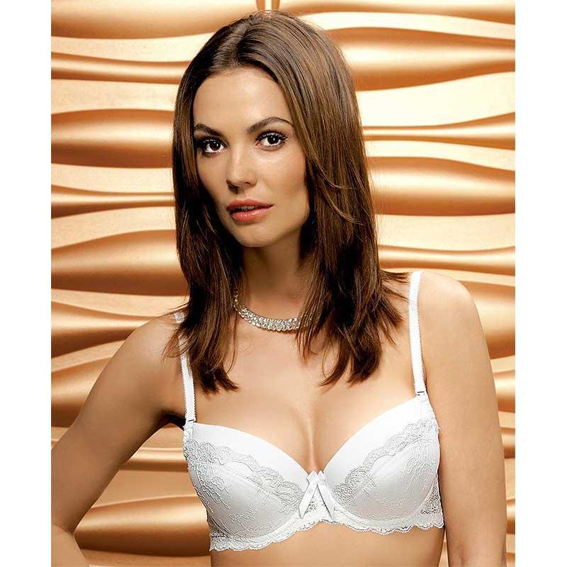 biustonosz Nipplex model Nina kolor biały