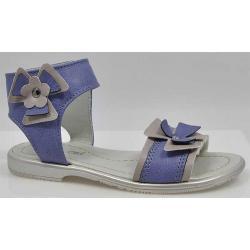sandały dla dziewczynki Kornecki 2527 śliwkowe