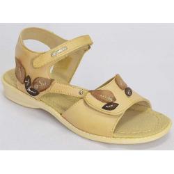 sandały skórzane Kornecki 1127 camel