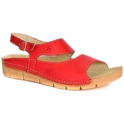 sandały Helios 674 czerwone