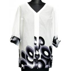 bluzka Dziekański Maciejka 33 biała