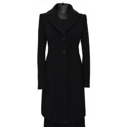 płaszcz Dziekański Andrea czarny z przodu