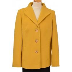 kurtka Caro 041 żółta z przodu