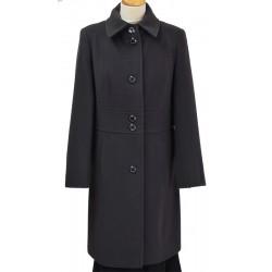 płaszcz Caro 090 ciemny popiel przód