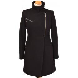 płaszcz Biba Werona czarny z przodu