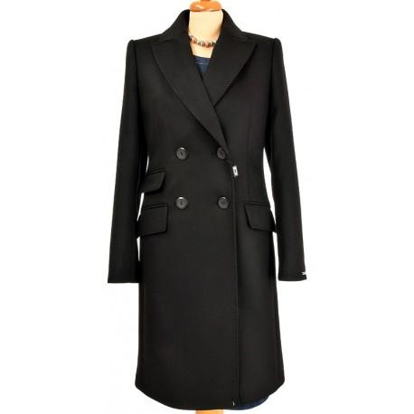 płaszcz Dziekański Emilia czarny z przodu