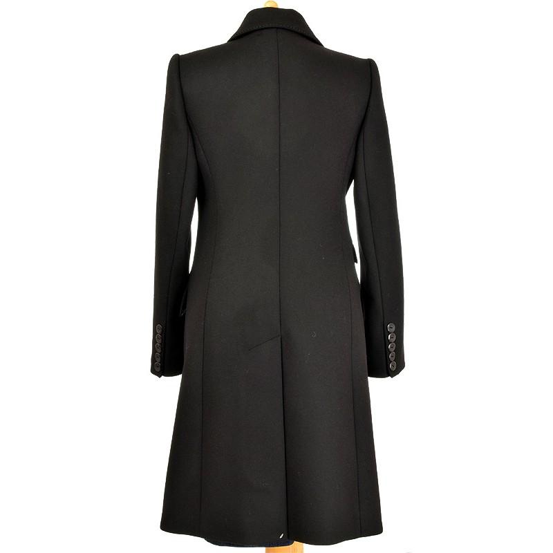 płaszcz Dziekański Emilia czarny z tyłu